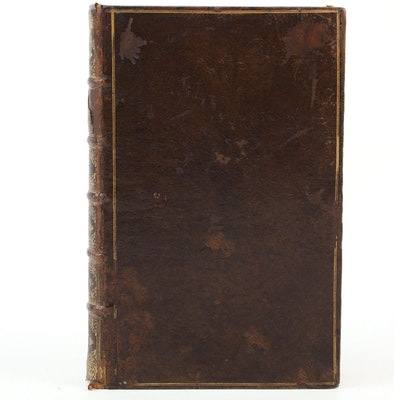 """""""Statical Essays"""" Third Edition by Stephen Hales, 1738"""