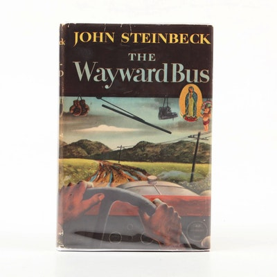 """First Edition """"The Wayward Bus"""" by John Steinbeck, 1947"""