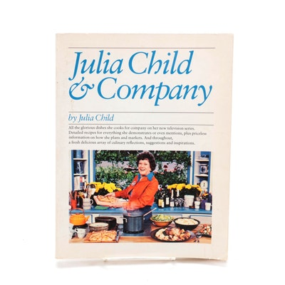 """Signed First Edition """"Julia Child and Company"""" by Julia Child, 1978"""