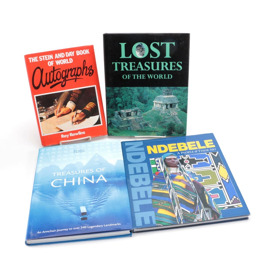 """""""The Stein and Day Book of World Autographs"""" and More Art and Reference Books"""