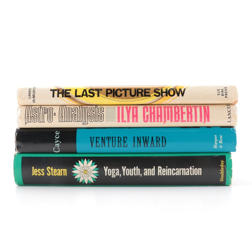 """""""The Last Pictures Show"""" Book Club Edition and More, Mid to Late 20th Century"""