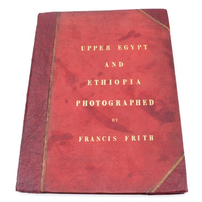 """""""Upper Egypt and Ethiopia Photographed"""" by Francis Frith, circa 1862"""