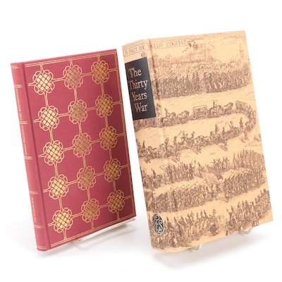 """Folio Society """"The Thirty Years War"""" and """"The Brownings"""""""
