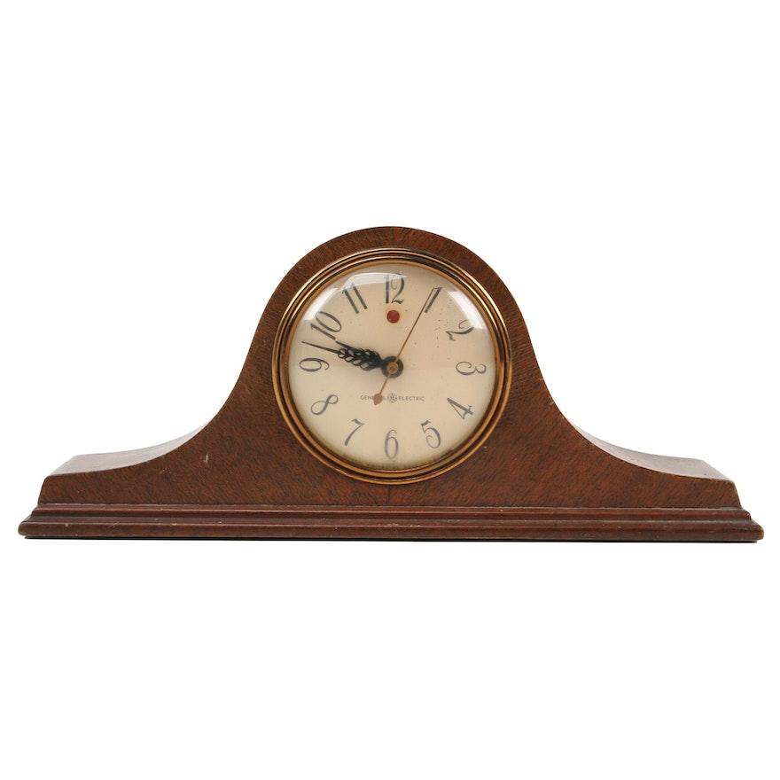 General Electric Mantel Clock, Mid-20th Century
