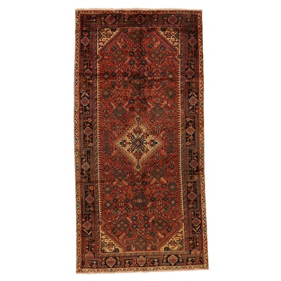 5'1 x 10'5 Hand-Knotted Persian Gogarjin Area Rug