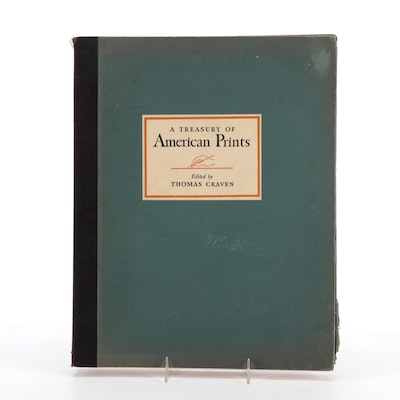 """""""A Treasury of American Prints"""" Edited by Thomas Craven, 1939"""