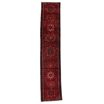 2'9 x 14'4 Hand-Knotted Persian Karaja Carpet Runner