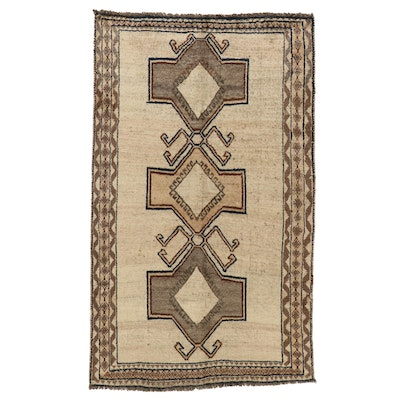 4' x 6'7 Hand-Knotted Persian Gabbeh Area Rug