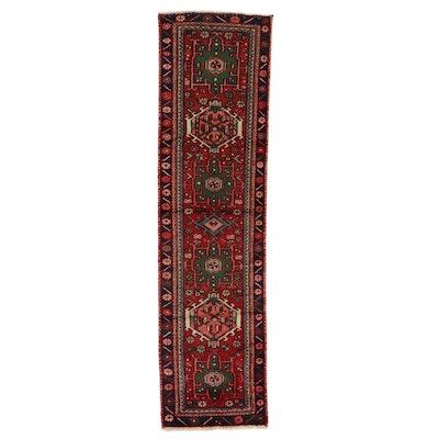 2' x 7'8 Hand-Knotted Persian Karaja Carpet Runner