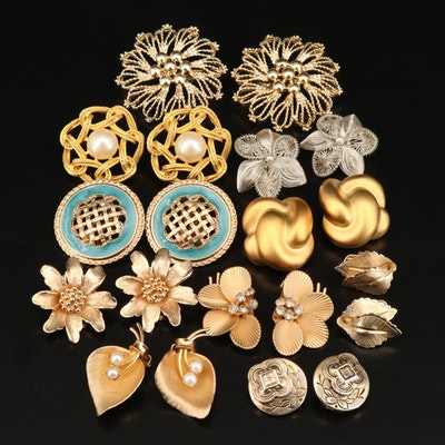 Vintage Earrings Including Giovanni, Carré, Marino and Maravella