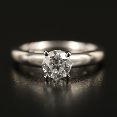 14K 0.95 CT Diamond Solitaire Ring