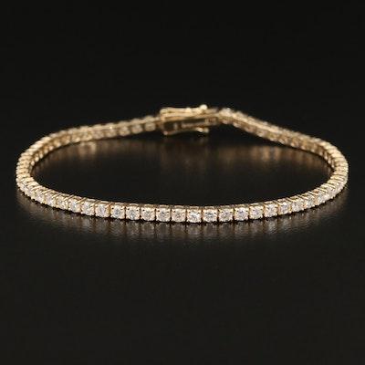 14K 3.43 CTW Diamond Line Bracelet