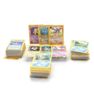 Pokémon Cards, Including First Editions, 1990s Issues, and Holo Cards