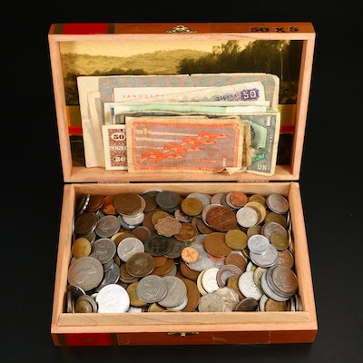 International Coin and Currency Collection, Mid to Late 20th Century