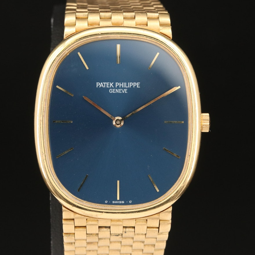 Patek Philippe Ellipse Sigma Dial 18K Wristwatch