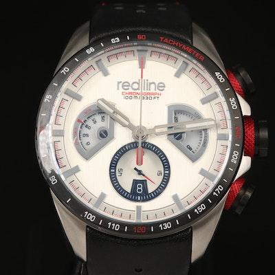 "Red Line ""Kickdown"" Chronograph Stainless Steel Quartz Wristwatch"