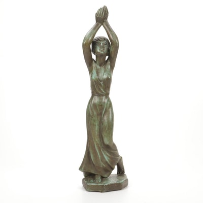 Austin Productions Composite Female Figurine, 1960