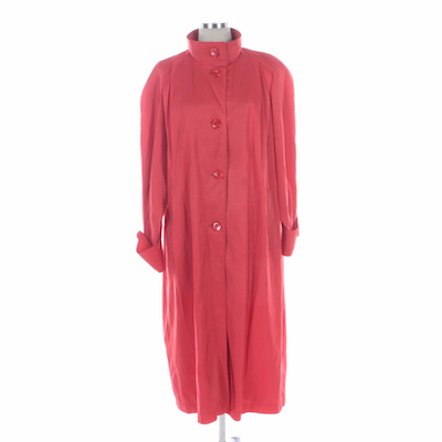 Vision Lightweight Coat with Raglan Sleeves and Cuffs