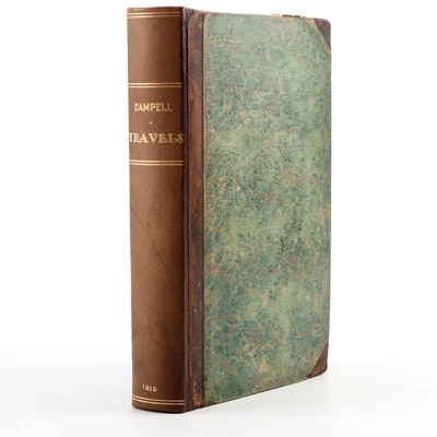 """""""Travels in South Africa"""" Third Edition by John Campbell, 1815"""