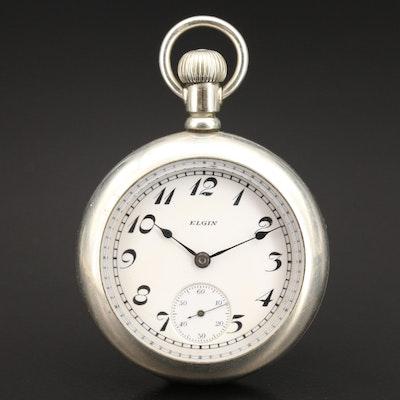 1923 Elgin Silverode Pocket Watch