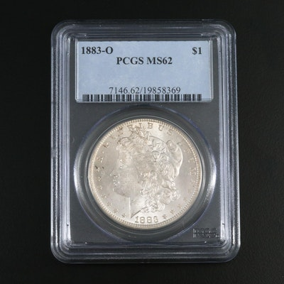 PCGS Graded MS62 1883-O Morgan Silver Dollar