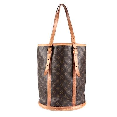 Louis Vuitton Bucket GM in Monogram Canvas and Vachetta Leather