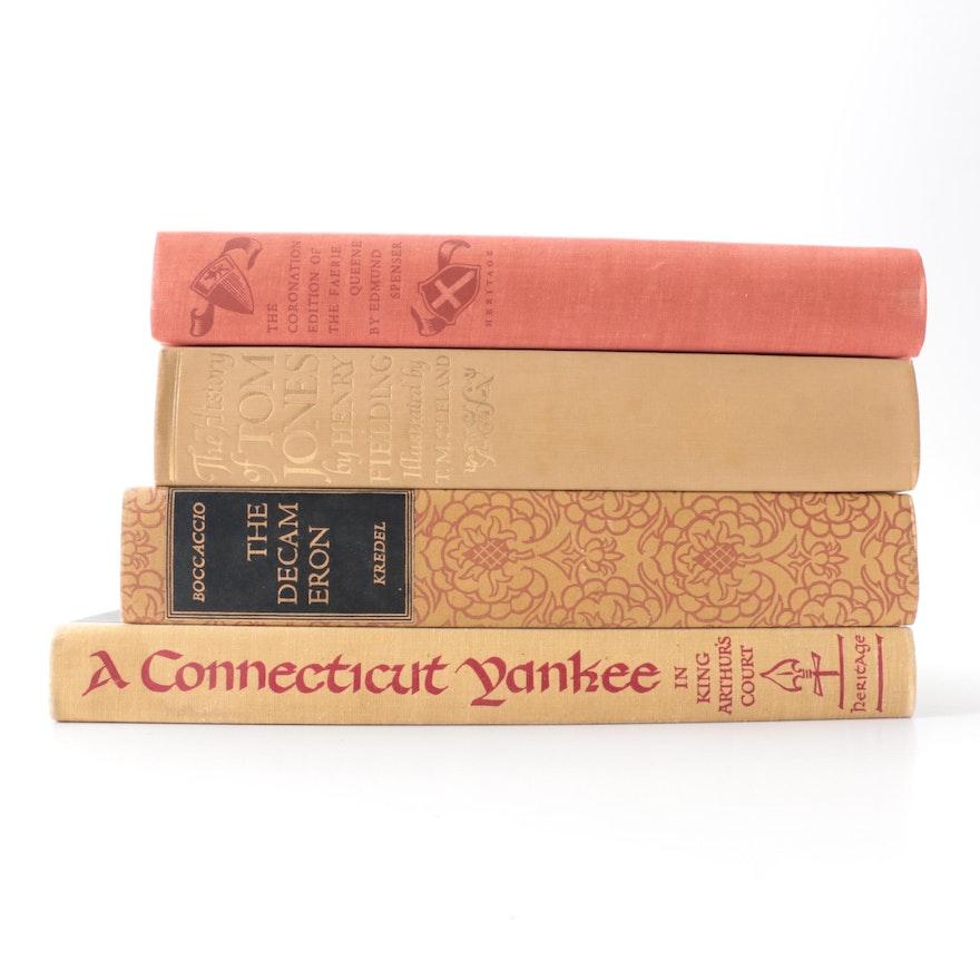 "Heritage Press Illustrated ""The Decameron"" by Boccaccio and More Classics"