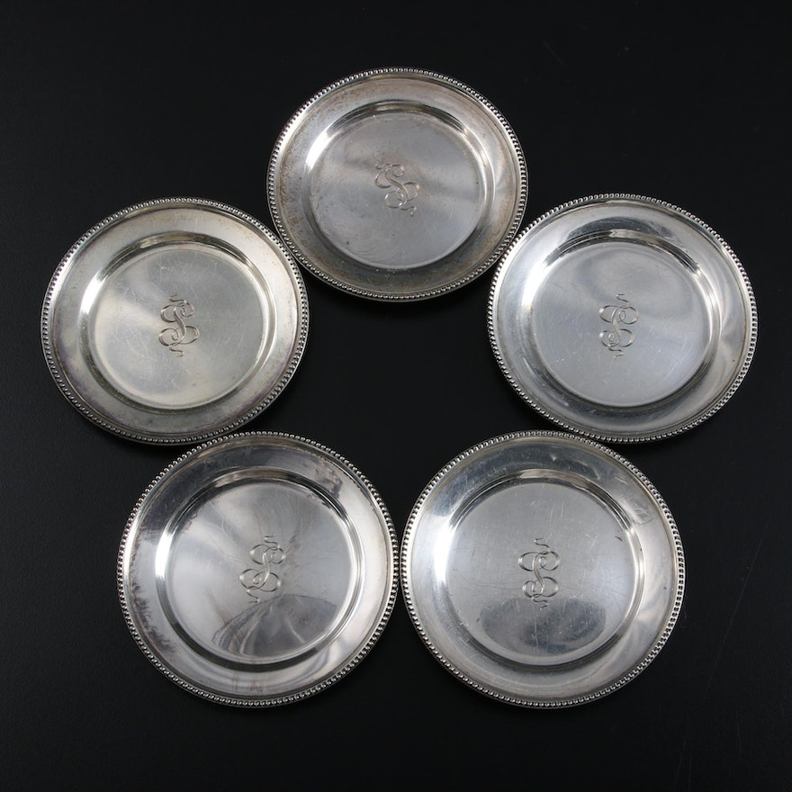 Reed & Barton Sterling Silver Butter Pats