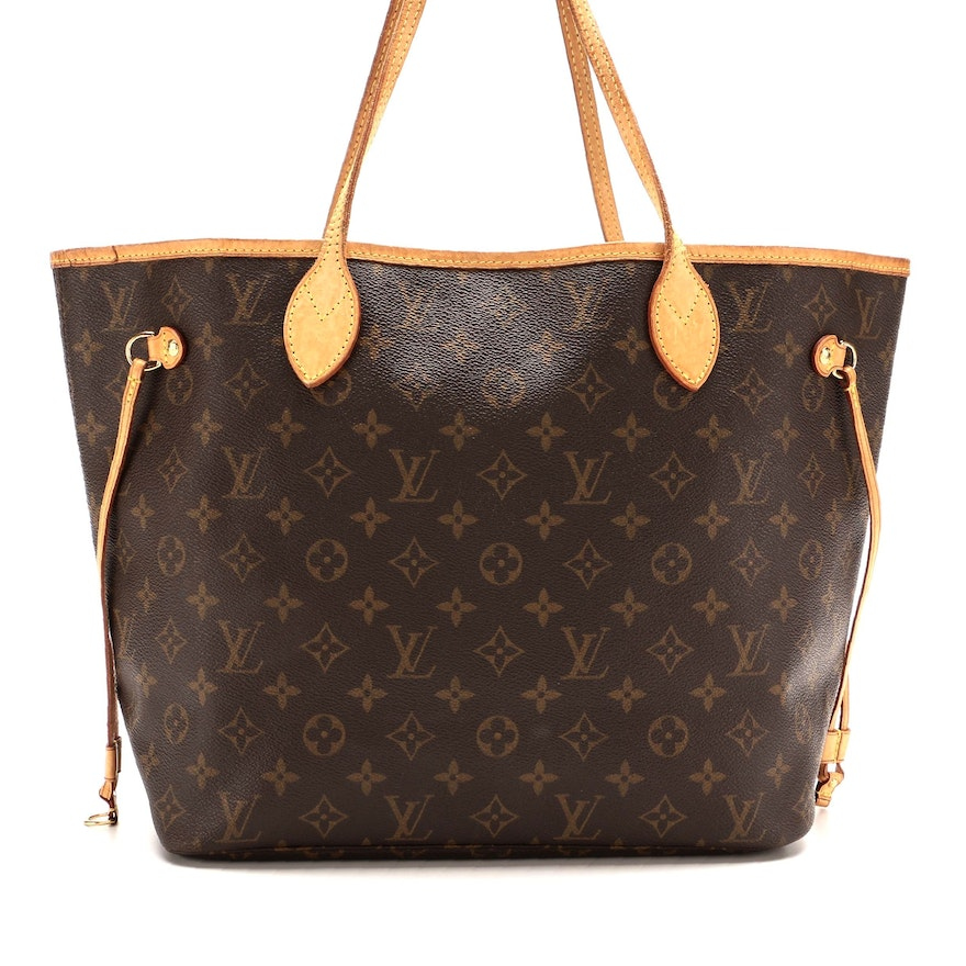 Louis Vuitton Neverfull MM Tote in Monogram Canvas