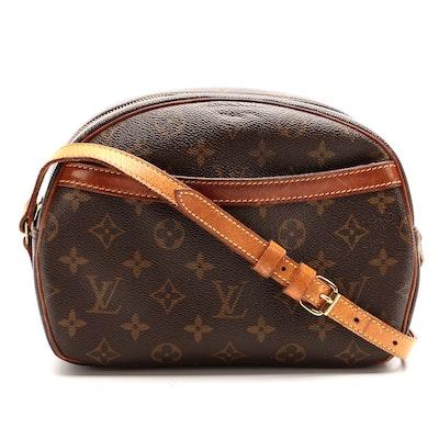 Louis Vuitton Blois Crossbody Bag in Monogram Canvas and Vachetta Leather