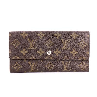 Louis Vuitton Porte Trésor International Wallet in Monogram Canvas