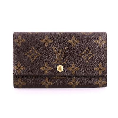 Louis Vuitton Wallet in Monogram Canvas