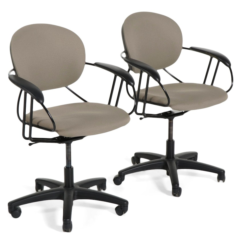 Pair of Contemporary Office Chairs