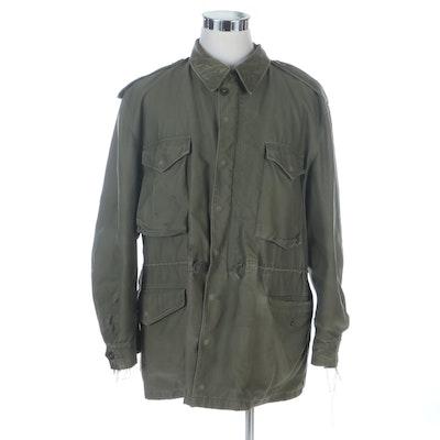 Korean War Era U.S. Army M-1951 Field Jacket with Liner