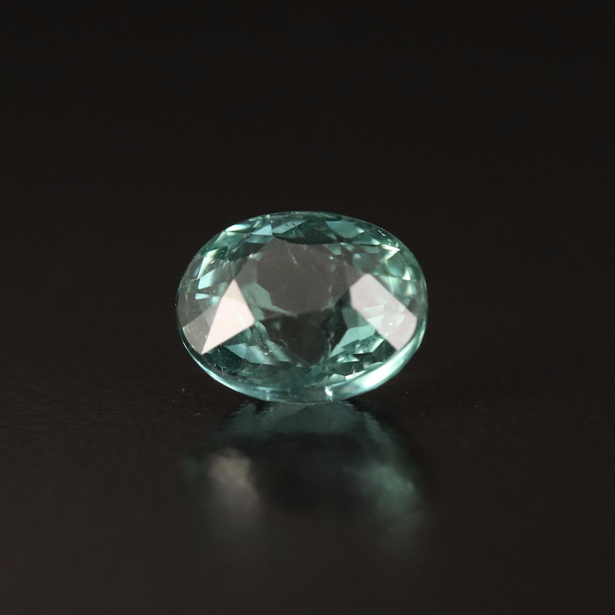 Loose 3.42 CT Oval Faceted Tourmaline