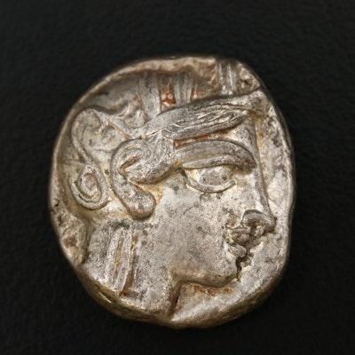 Ancient Greece, Attica, Athens AR Tetradrachm, ca. 400 BC