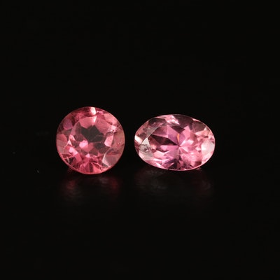 Loose 1.58 CTW Faceted Tourmalines