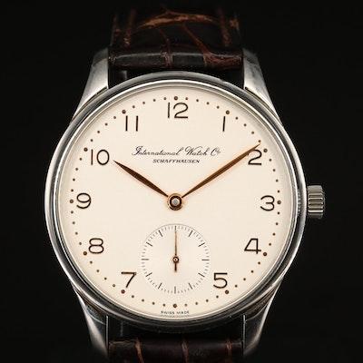 IWC Portugieser Stainless Steel Automatic Wristwatch