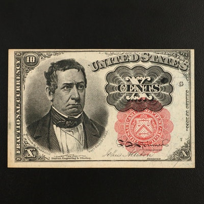 Series of 1874 10-Cent Fractional Currency Note, Fifth Issue