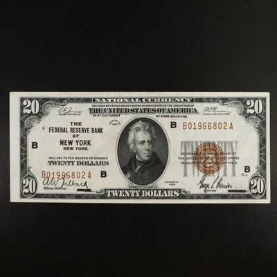 Series of 1929 $10 National Bank Note