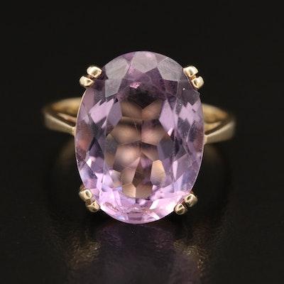 10K Amethyst Ring