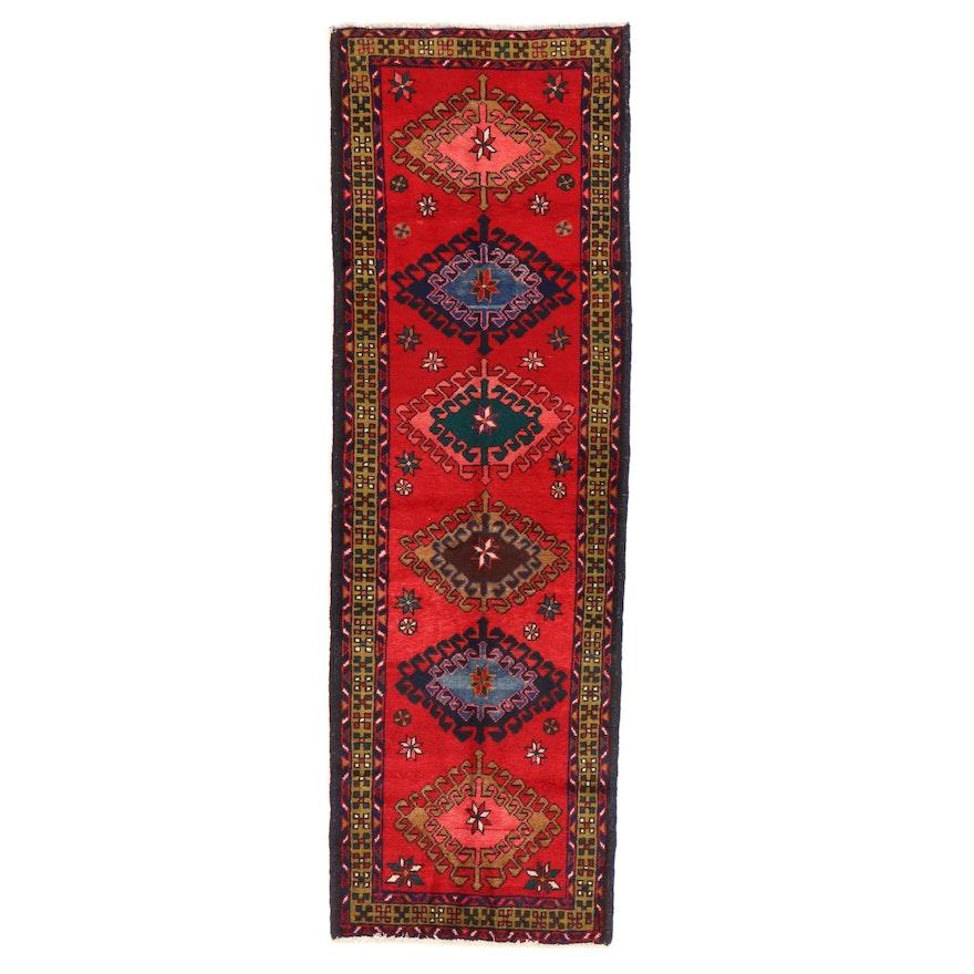 3' x 9'6 Hand-Knotted Persian Luri Carpet Runner