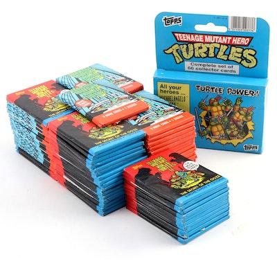 """Topps """"Teenage Mutant Ninja Turtle"""" Trading Cards, 1990"""