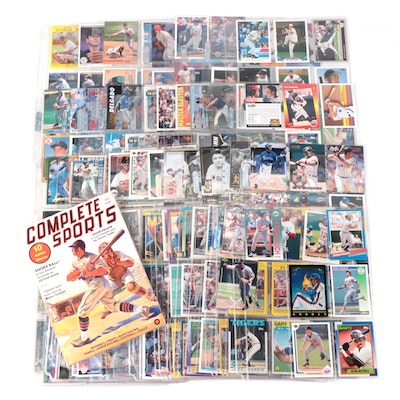 """1990s Baseball Cards with 1937 """"Complete Sports"""" Magazine"""