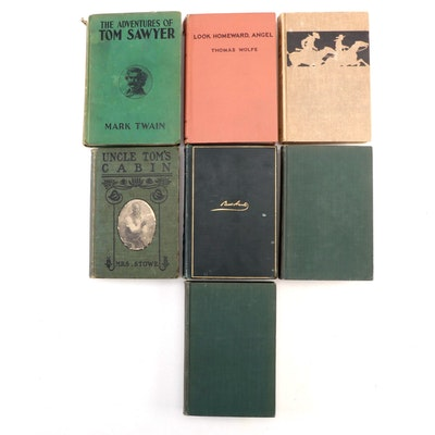 """""""Tom Sawyer,"""" """"Uncle Tom's Cabin,"""" and More Books, Late 19th/Early 20th Century"""