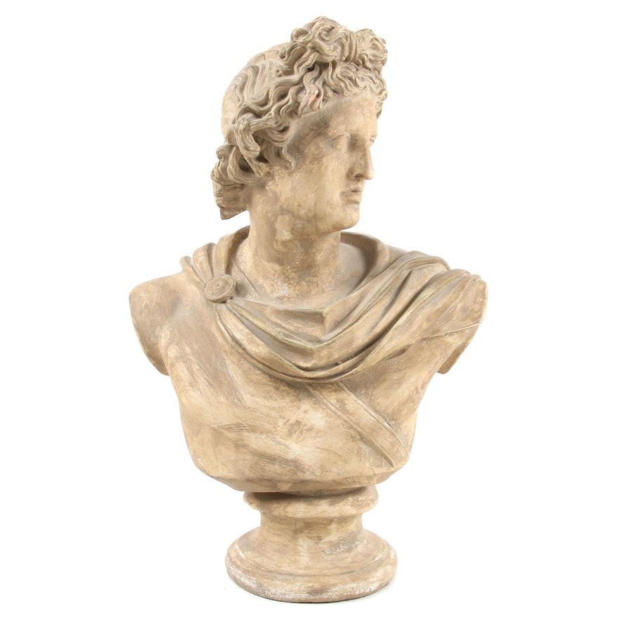 Plaster Bust after the Apollo Belvedere