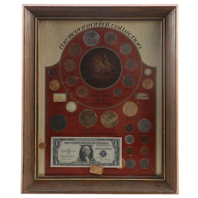 """""""The Bicentennial Collection"""" Coin and Currency Set"""