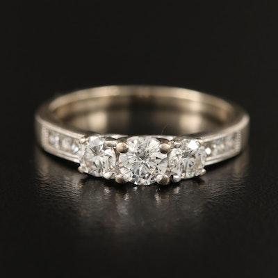 14K 1.05 CTW Diamond Ring