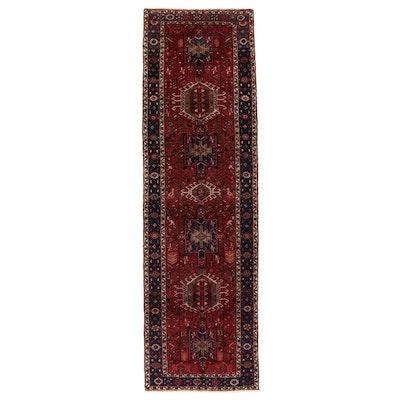 3'3 x 11'5 Hand-Knotted Persian Karaja Long Rug