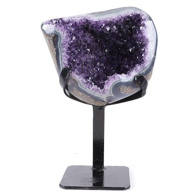 Amethyst Geode with Display Stand